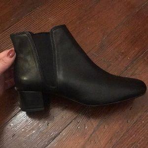 Clark's booties!